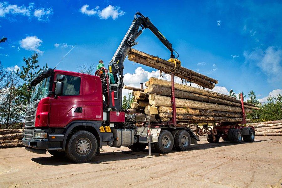 Cum transportul de lemn devine din ce in ce mai verificat