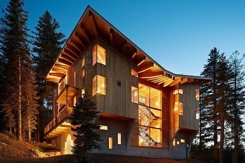 Casele de lemn au devenit mai mult decat un trend actual