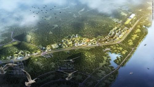 China construieste primul oras padure in lupta impotriva poluarii