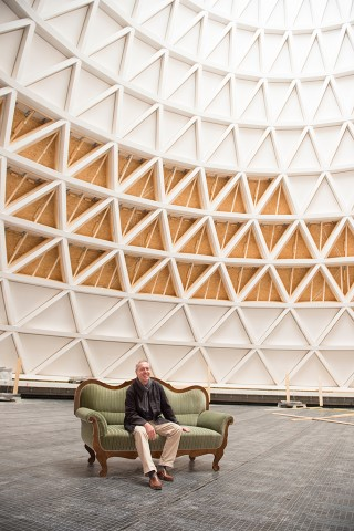 Ecological: Spectacular new church made of wood - architect Eberhard Wimmer in an interview