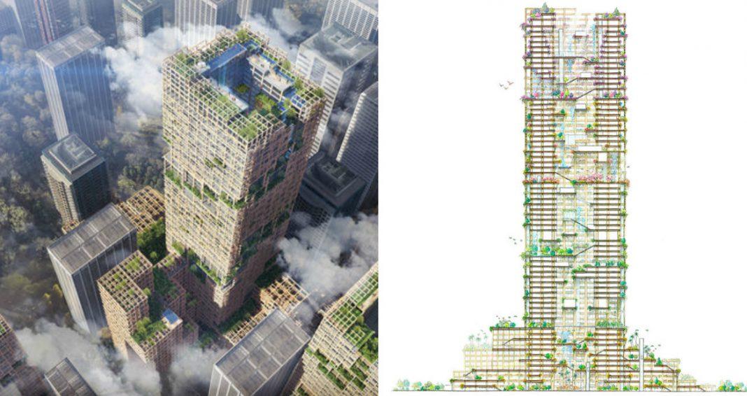 Japonia a proiectat cel mai inalt edificiu de lemn din lume